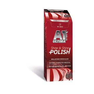 DR. WACK 2660 A1 ULTIMA Show & Shine Polish 250 ml Politur