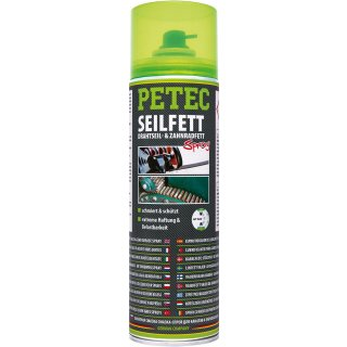 Petec 71650 Seilfett Spray 500ml