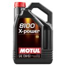Motul 109696 8100 X POWER Motoröl 10W60 5 l